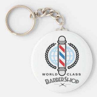 World Class Barber Shop Keychain