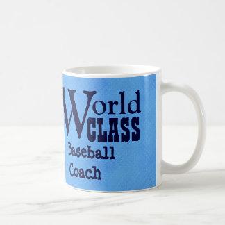 World Class Baseball Coach or Any Sport BLUE V04A1 Coffee Mug