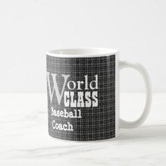 World Class Baseball Coach or Any Sport GRAY V04A2 Coffee Mug