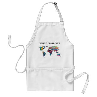 World Class Chef Adult Apron