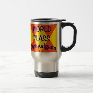 World Class Curmudgeon Travel Mug