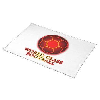 World Class Football Cloth Placemat