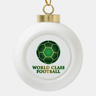 World Class Football Ornament