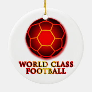 World Class Football Christmas Ornament