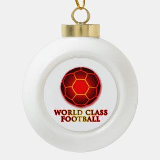 World Class Football Ornaments