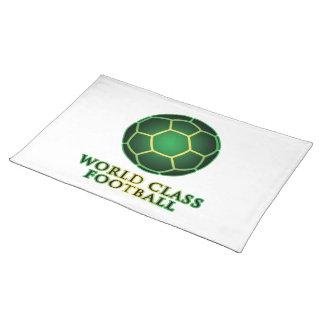 World Class Football Placemat