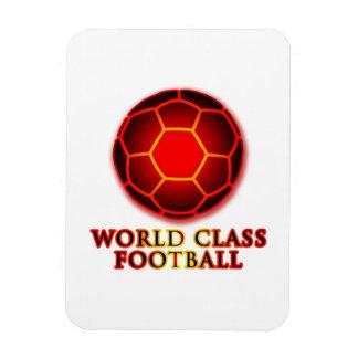 World Class Football Rectangular Magnets