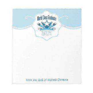 World Class Graduate Class of 2017 Graduation Notepad