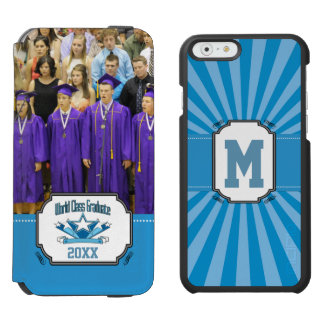 World Class Graduate Class of 2018 Graduation iPhone 6/6s Wallet Case
