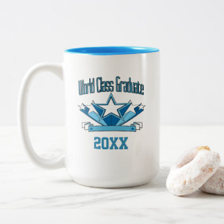 World Class Graduate Class of 2018 Graduation Two-Tone Coffee Mug