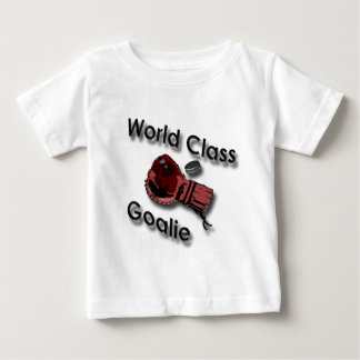World Class Hockey Goalie Glove black Baby T-Shirt