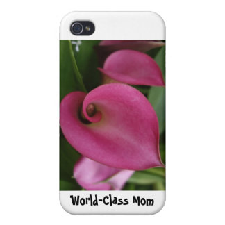World-Class Mom - Hard Shell Case for iPhone 4