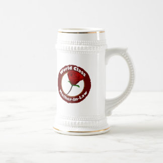 World Class Mother-In-Law Mothers Day Gifts 18 Oz Beer Stein