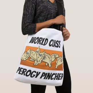 World Class Perogy Pincher Cross Body Tote Bag