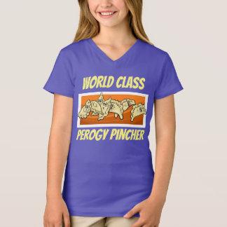 World Class Perogy Pincher Shirt Ukrainian Flag