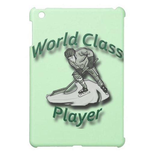 World Class Player green iPad Mini Cases