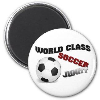 WORLD CLASS SOCCER JUNKY Magnet