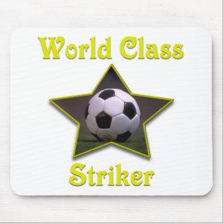World Class Striker Mouse Pad