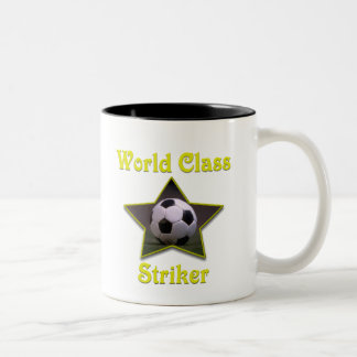 World Class Striker Two-Tone Coffee Mug