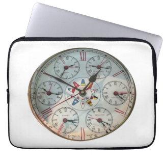 World Clock image for Neoprene Laptop Sleeve
