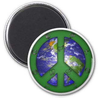 World Coexist Magnet