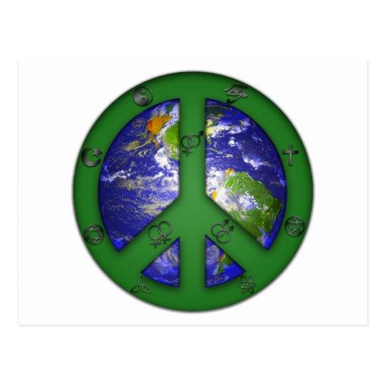 World Coexist Postcard