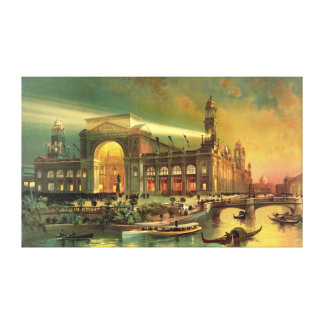 World Columbian Exposition 1892 Stretched Canvas Print
