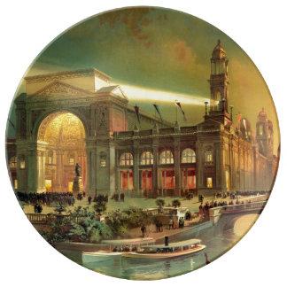 World Columbian Exposition 1892 Porcelain Plate
