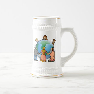 World Coming Together Coffee Mugs