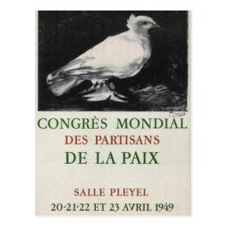 World congress_ Propaganda_poster Postcard