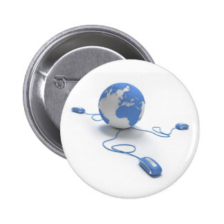 World Connection 2 Inch Round Button