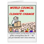 World Council on Climate Change Greeting Cards