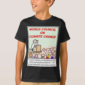 World Council on Climate Change T-Shirt