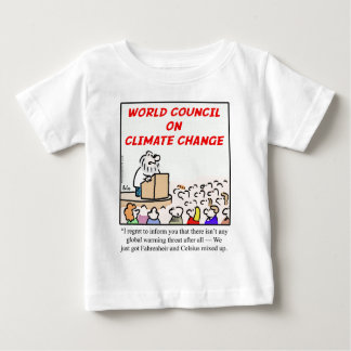 World Council on Climate Change T Shirt