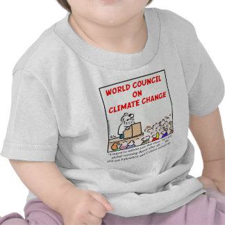 World Council on Climate Change T-shirts