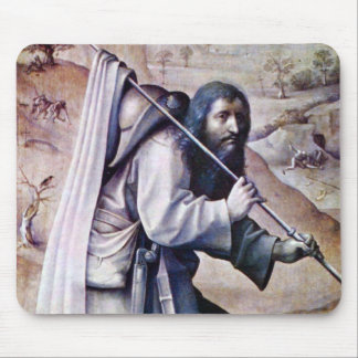 World court triptych - St. Jacobus Compostela Mouse Pads
