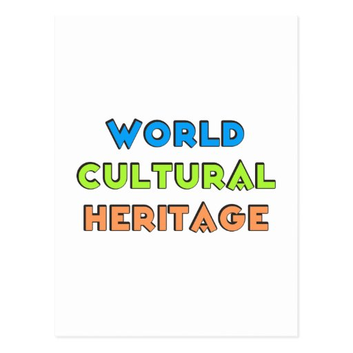 world cultural heritage tarjetas postales