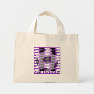 World Cup 2010 Bag Purple Soccer Shoes