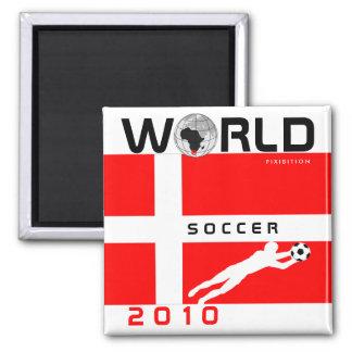 World Cup 2010 Denmark Magnet