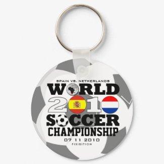 World Cup 2010 Finals Spain Netherlands Keychain keychain