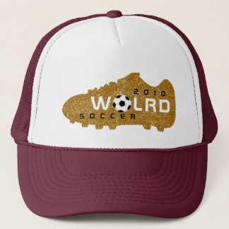 World Cup 2010 Gold Brown Hat