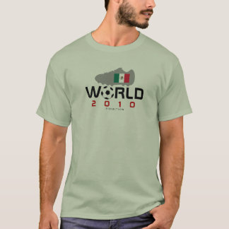 World Cup 2010 Mexico Shoe T-Shirt