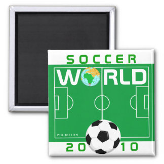 World Cup 2010 Soccer Field Magnet