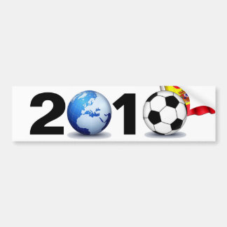 World Cup 2010 - Spain Bumper Sticker