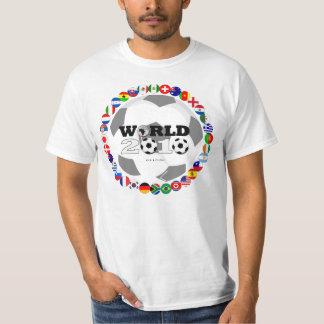 World Cup 2010 T-Shirt All Team Flag
