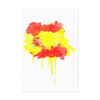 World Cup 2014 : Spain Canvas Print