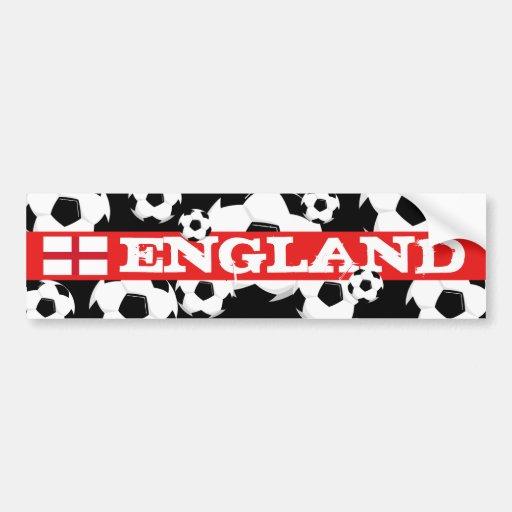 World Cup Ball Bumper Sticker England