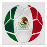 World Cup Brazil 2014 Mexican National team futbol Posters