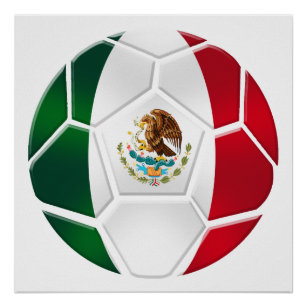 World Cup Brazil 2014 Mexican National team futbol Poster 952f0d705