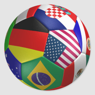 World Cup Futbol Soccer Ball Sticker